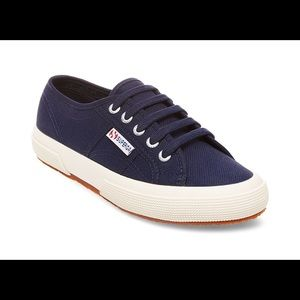 Navy Superga Sneakers Size 40